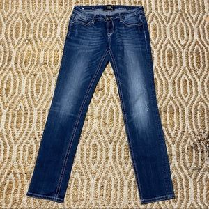 Rerock for Express Jeans Skinny Distressed size 8